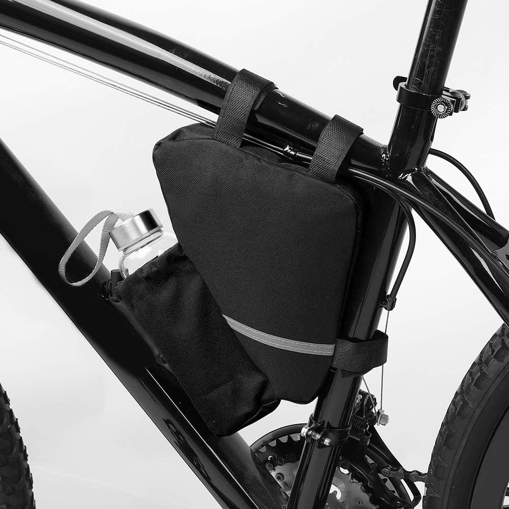 VGEBY Bike Bottle Bag Oxford Cloth Bicycle Triangle Frame Water Bottle Bag Cycling Saddle Seat Pack