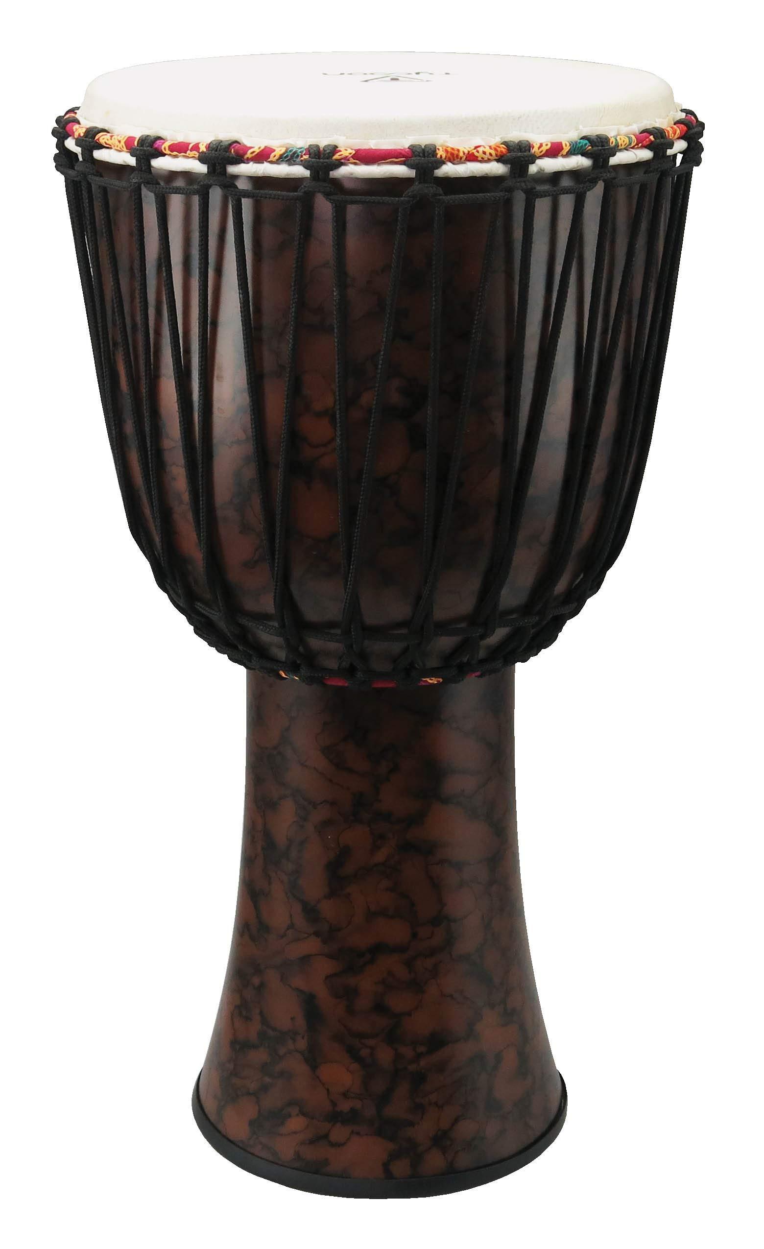 Tycoon Percussion TFAJ-12 12 Fiberglass Djembe, Rope Tuned