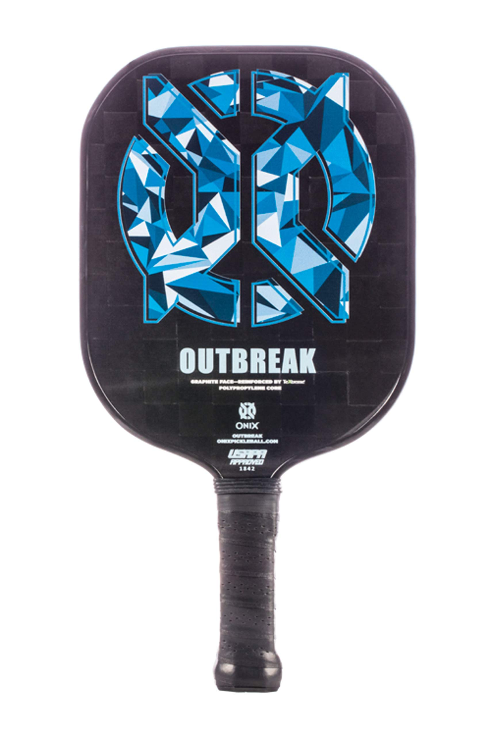 Onix Outbreak Pickleball Paddle Reinforced by TeXtreme Technology for Improved Performance and Stronger Play