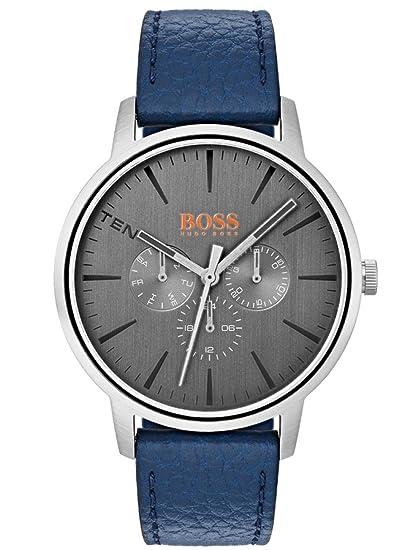 5aaa00569ccc Reloj Análogo marca Hugo Boss Modelo  1550066 color Azul para Caballero
