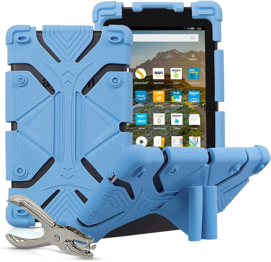 Universal 7 inch Tablet Case Shockproof Silicone Stand Cover for All Versions RCA Voyager 7