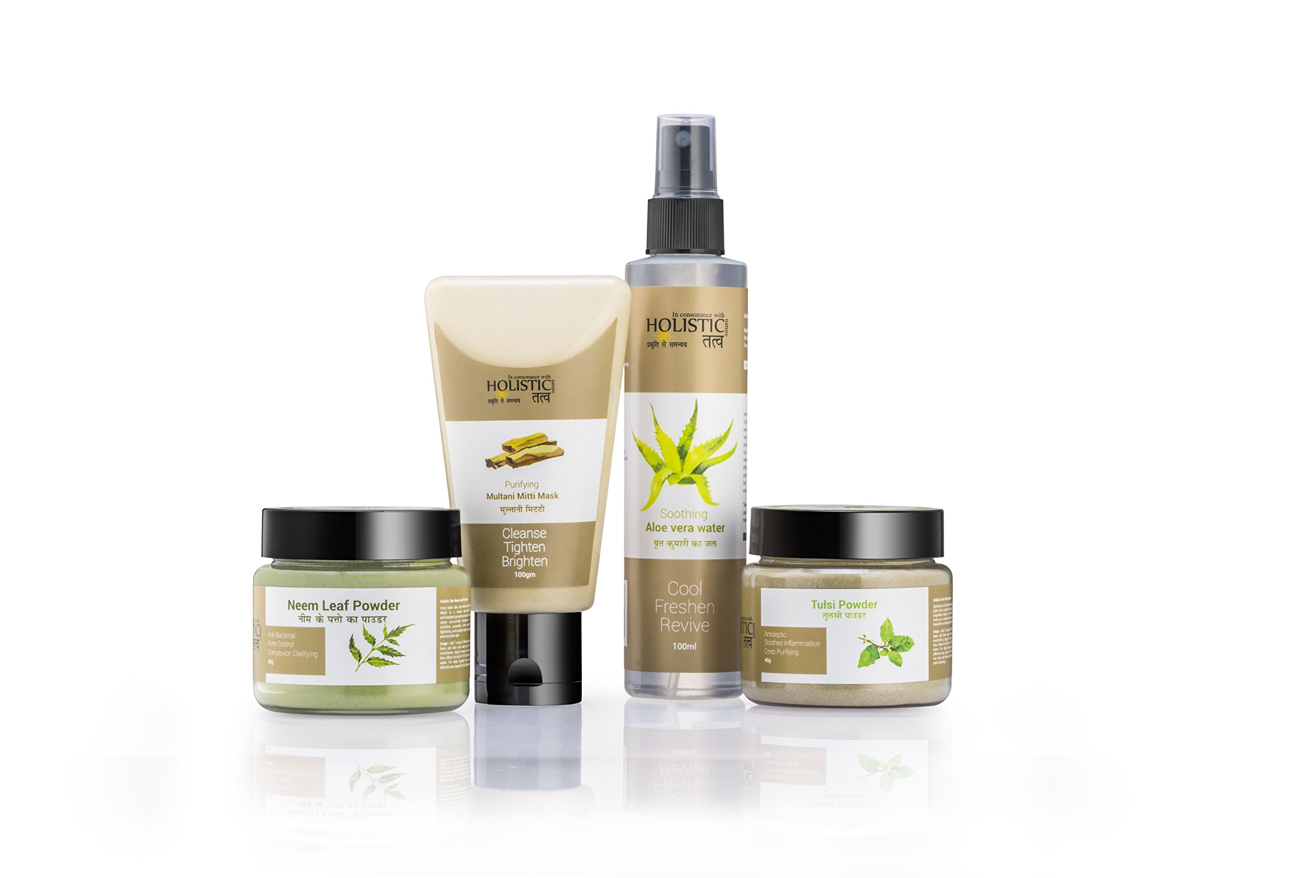 Holistic Tatv Skin Clear Essential Kit for Oily-Acne Blemish-Prone Skin product image