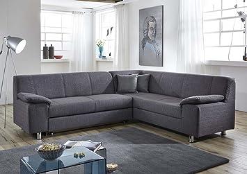 Dreams4Home Polstersofa \'Nightlife\', Sofa, Wohnzimmer, grau, Couch ...