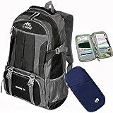 a35bb2308458 Amazon.com: Leberna Unisex Water-resistant Business Laptop Backpack ...