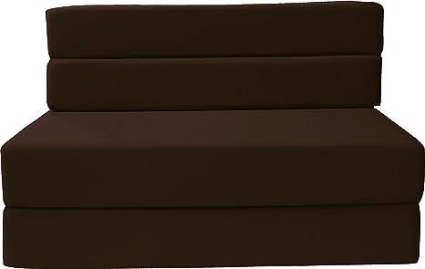 Amazon.com: D&D Futon Furniture Colchón de espuma plegable ...