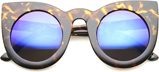 OVERSIZED EXAGGERATED RETRO Style SUN GLASSES Square Green Frame Light Tint Lens
