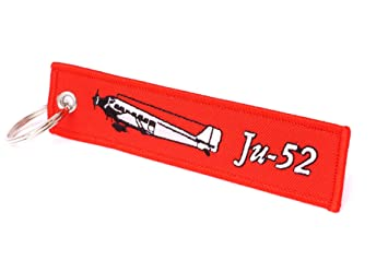 REMOVE BEFORE FLIGHT Llavero en Rojo | Junkers Ju de 52 ...