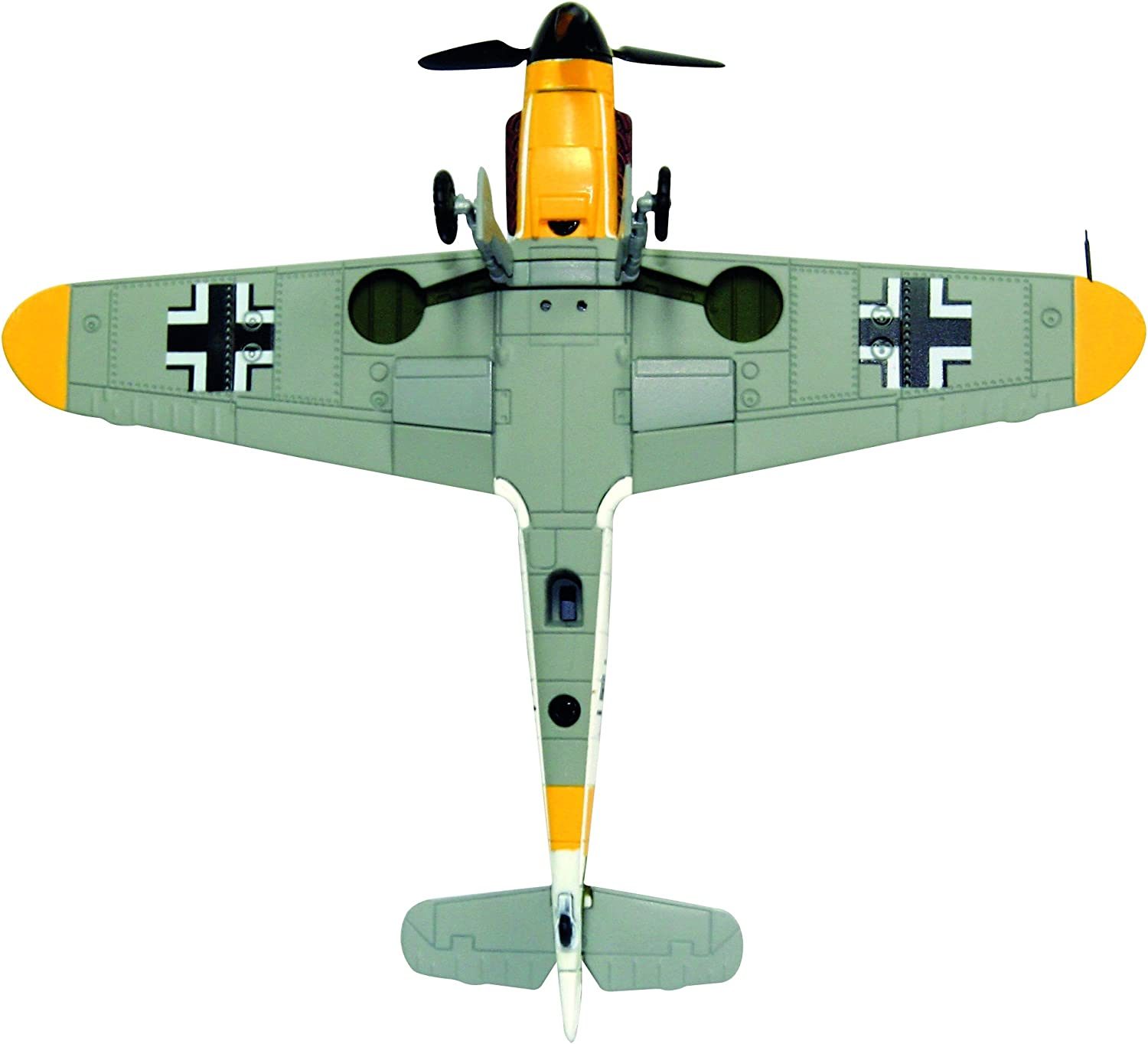 lahomia 1//72 WWII Germany Airplane BF109F-4 Fighter Aircraft Warplane Diecast Model