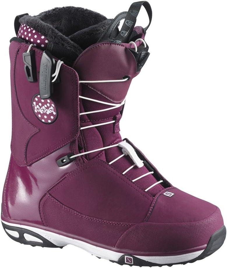 サロモン(SALOMON)) スノーボード ブーツ KIANA(キアナ) 2016-17モデル L38105400 MYSTIC 紫の(ミスティック パープル) 23~25