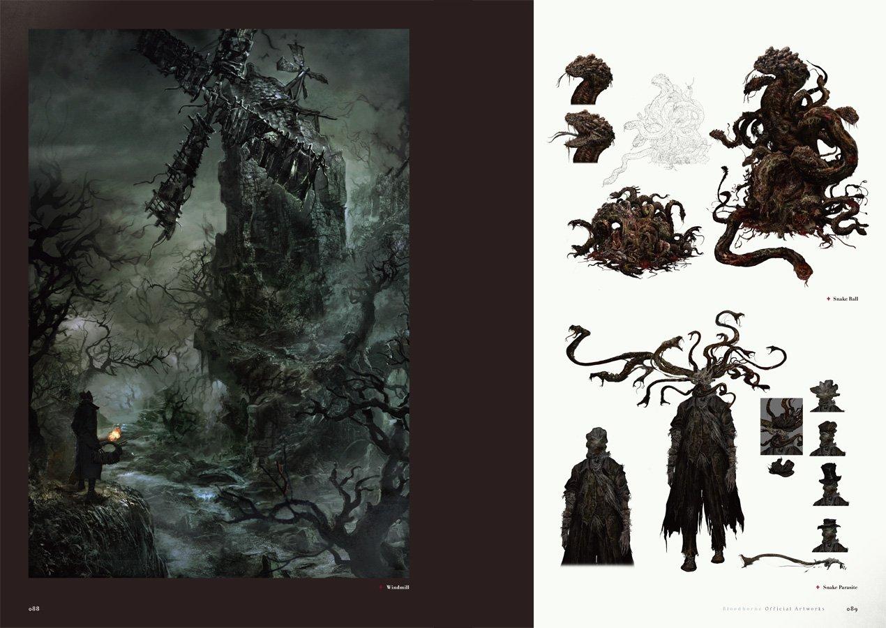 Bloodborne Official Artworks Book Game Art Book