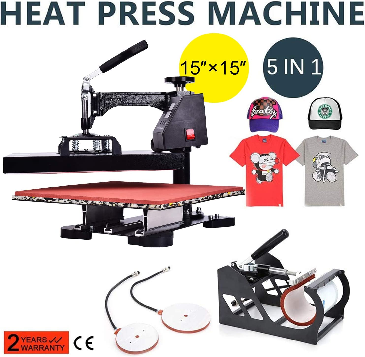 Which Is The Best 5x5 Dual Heating Element Press