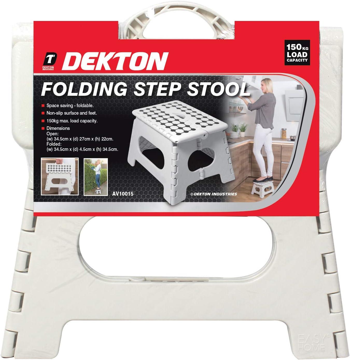 DEKTON AV10015 Folding Step Stool
