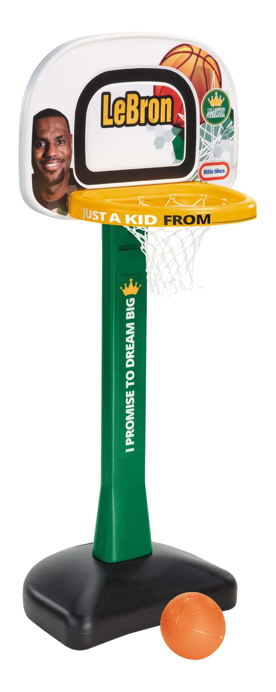 Little Tikes LeBron James Family Foundation - Mini Hoop Basketball Set by Little Tikes