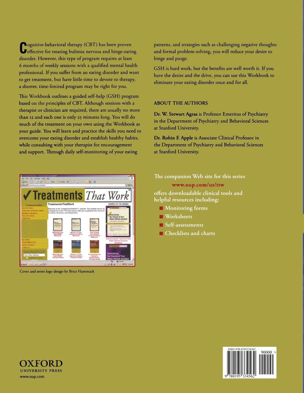 Workbooks eating disorder workbook : Overcoming Your Eating Disorder: Guided Self-Help Workbook A ...