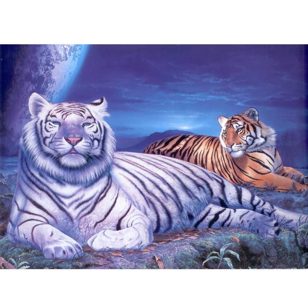 zxddzl Pintura por Leopardo Digital Pintura acrílica ...