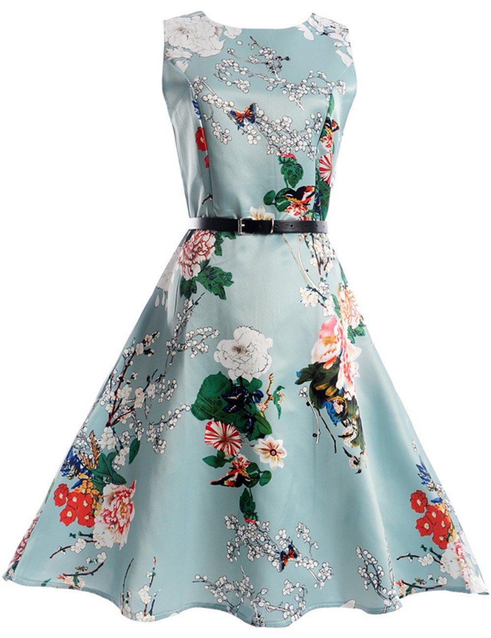 Girls Kids Casual Dress Paint Butterfly Rose Animal Fall Long Sleeve/Sleeveless Dresses 42159-F00A