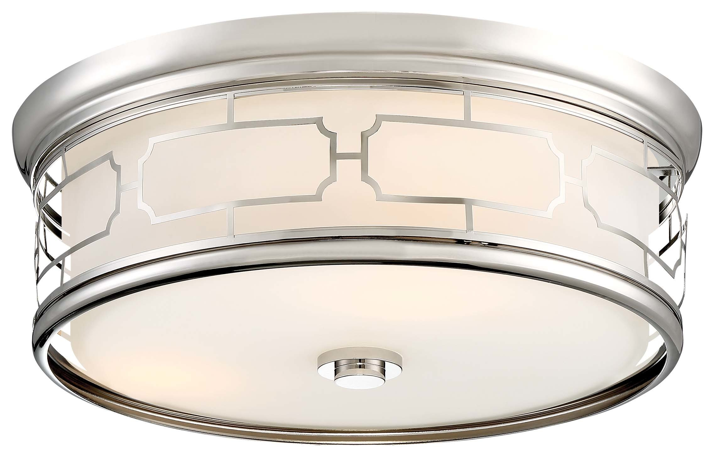 Minka Lavery 826-613 Polished Nickel Ceiling Light