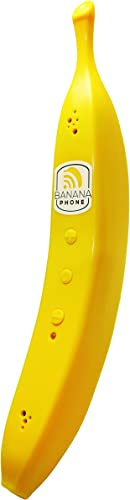 Banana Phone – World s First Banana Shaped Wireless Bluetooth Mobile Handset Fun Novelty Cell Phone Accessory