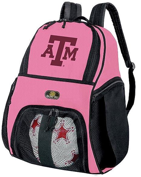 Las niñas Texas A & M balón de fútbol mochila o - Pelota de ...