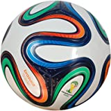 Giftadia Official Brazuca Replica PU Football Size 5 Multicolor