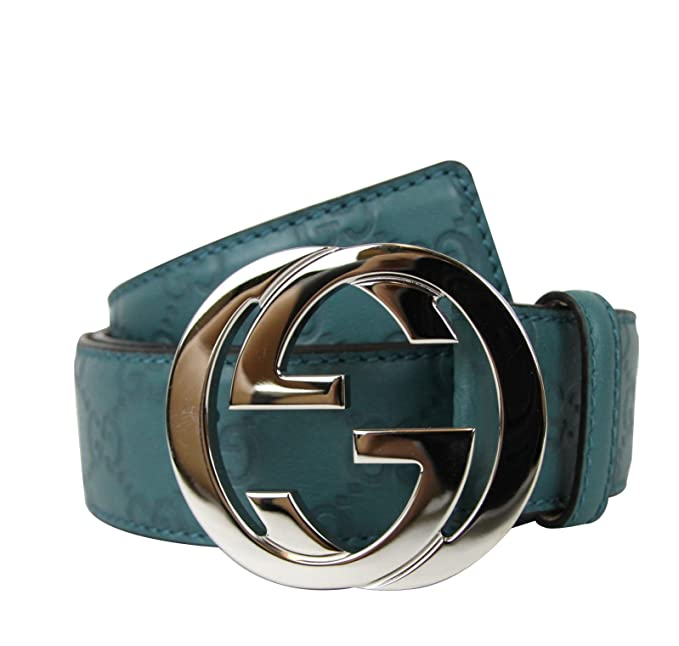 59f3680da6d Gucci Men s Interlocking G Buckle Belt 114984 (100   40