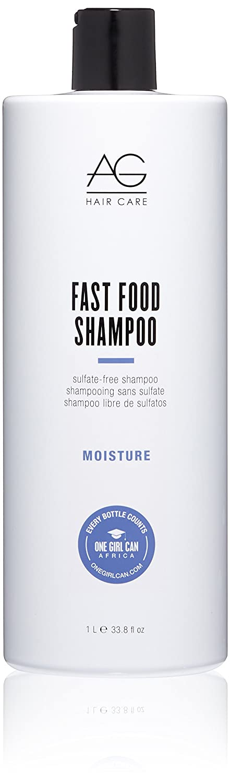 AG Hair Cosmetics Moisture Fast Food Sulfate-Free Shampoo