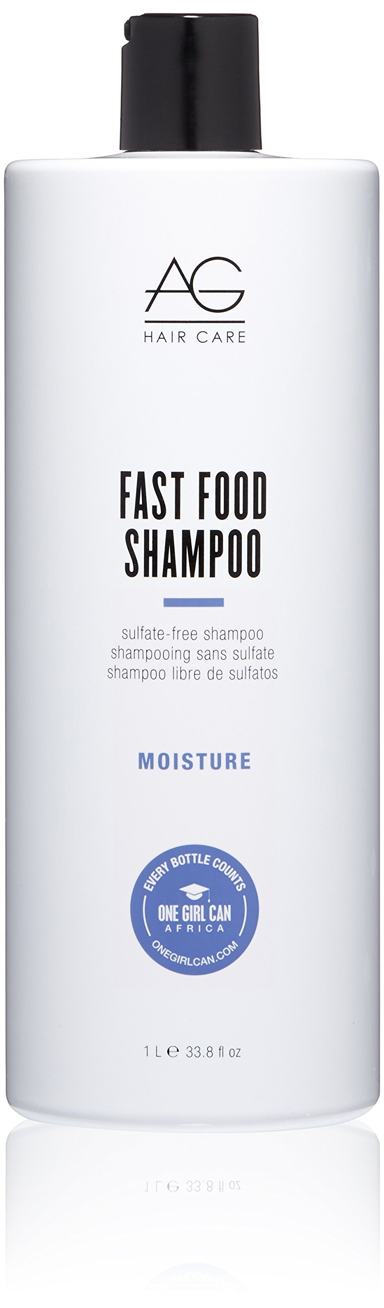 AG Hair Fast Food Sulfate Free Shampoo, 33.80 Ounce by AG