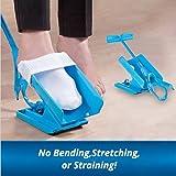 Calcetín Slider, fácil en/easy Off Kit de ayuda para ponerse los calcetines ayudante Slider sin doblar, strenching y de tensión para cómodo viaje