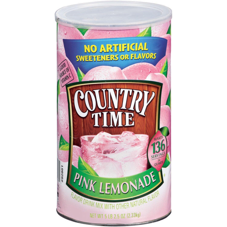 Worksheet Oz Quarts amazon com country time pink lemonade drink mix makes 34 quarts 82 5 oz grocery gourmet food