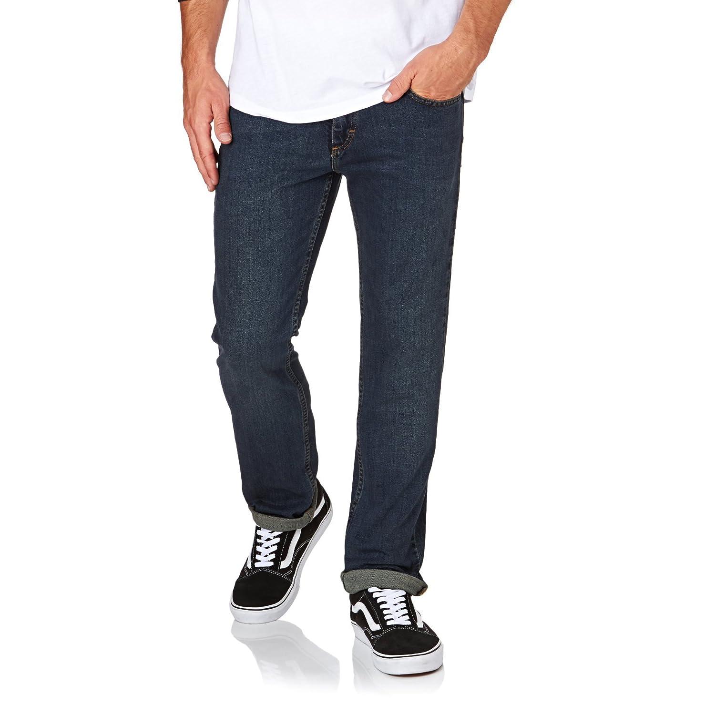 6bb51f42e64186 new Vans V16 Slim Jeans-Blue