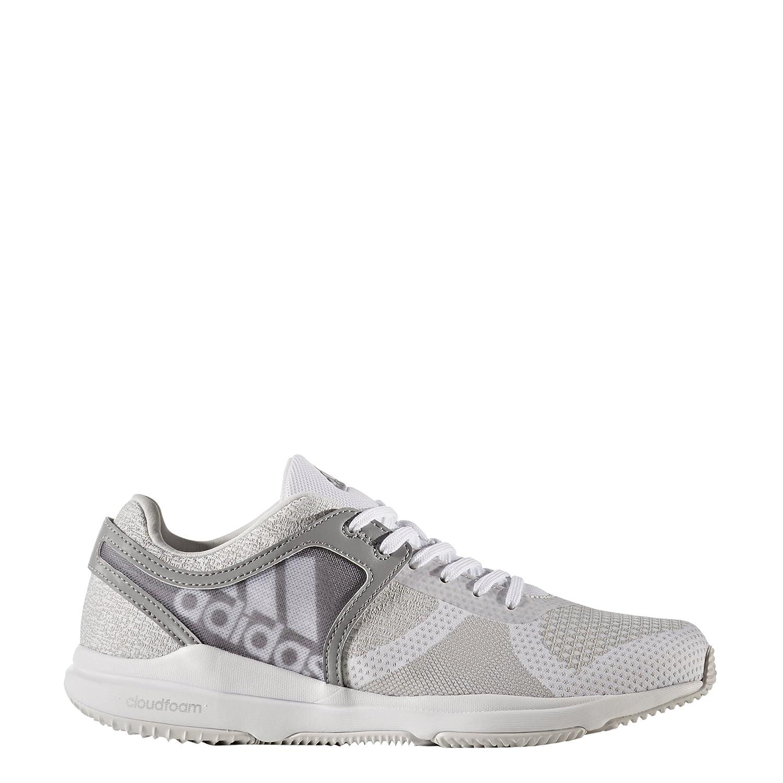 adidas Damen Crazytrain CF W Fitnessschuhe  40 2/3 EU|Wei? (Blanco/(Griuno/Ftwbla/Gritre) 000)