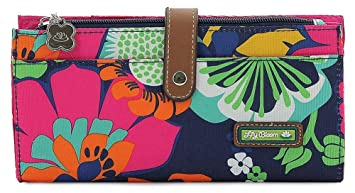 0b4b8b113f69 Image Unavailable. Image not available for. Color  Lily Bloom Floral Fiesta Liza  Wallet