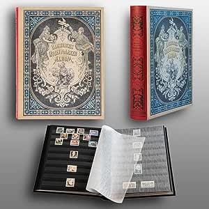 Prophila Collection Nostalgia Clasificador III Sellos 60 paginas Negro: Amazon.es: Juguetes y juegos
