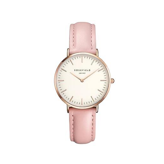Rosefield The Tribeca Cuarzo - Reloj (Reloj de Pulsera, Femenino, Rose Gold,