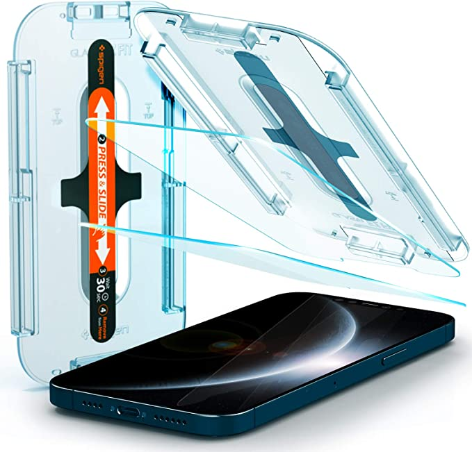 Spigen Glas Tr Ez Fit Panzerglas Kompatibel Mit Iphone Elektronik