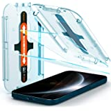 Spigen Tempered Glass Screen Protector [Glas.tR EZ Fit] designed for iPhone 12 Pro Max (2020) [6.7 inch] [Case Friendly] - 2