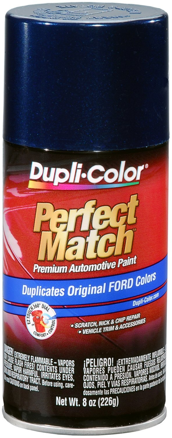 Dupli-Color BFM0358-6 PK (EBFM03587-6 PK) True Blue Ford Exact-Match Automotive Paint - 8 oz. Aerosol, (Case of 6)