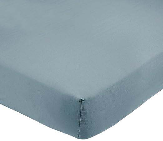 154 opinioni per AmazonBasics- Lenzuolo in microfibra con angoli, King, 200 x 200 x 30 cm, blu