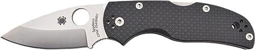 Spyderco C41CFPE5 Sp Native5 Plain Edge Cpm150 S90V Hunting Knive