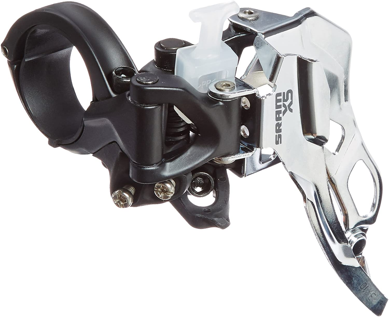 new  SRAM X7 low clamp Dual pull front derailleur 3x10 speed 34.9 clamp X.7