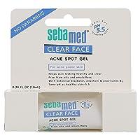 Sebamed Clear Face Acne Spot Gel Anti Pimple Gel Dermatologically Tested for Acne Prone Skin 0.34 Fluid Ounces (10mL)