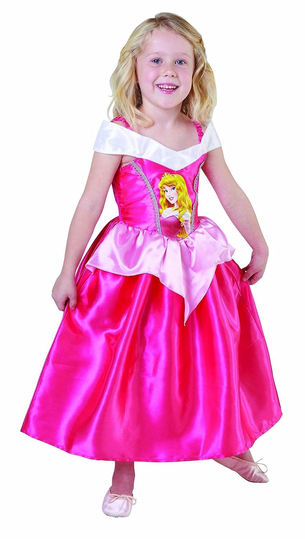 Disfraz infantil de princesa Disney de la bella durmiente (talla S ...