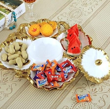 ZWZT Obst Schale Schüssel Salat Herzstück Moderner Kreative Kaffee Tisch  Wohnzimmer Dekoration: Amazon.de: Küche U0026 Haushalt