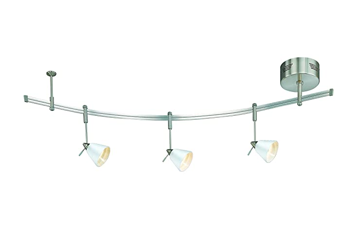 amazon com lite source kit 2883a fro unirail three light decor lamp