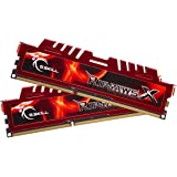 G.SKILL Ripjaws X Series 8GB (2 x 4GB) Desktop Memory, 240-Pin DDR3 SDRAM, 1600 MHz, PC3 12800 (F3-12800CL9D-8GBXL)