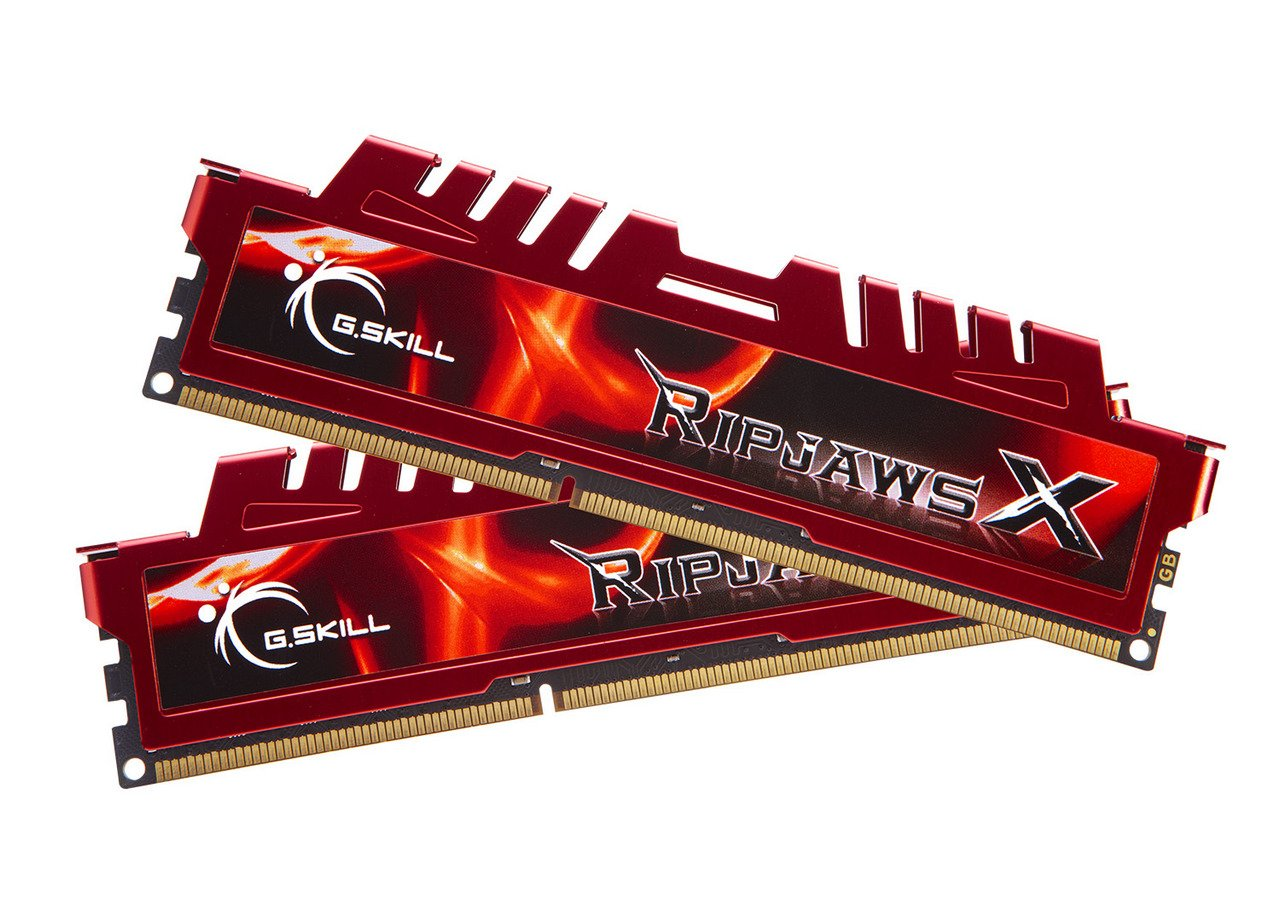G.SKILL RipjawsX Series 16GB (2 x 8GB) 240-Pin DDR3 SDRAM DDR3 1866 (PC3 14900) Desktop Memory Model F3-14900CL10D-16GBXL