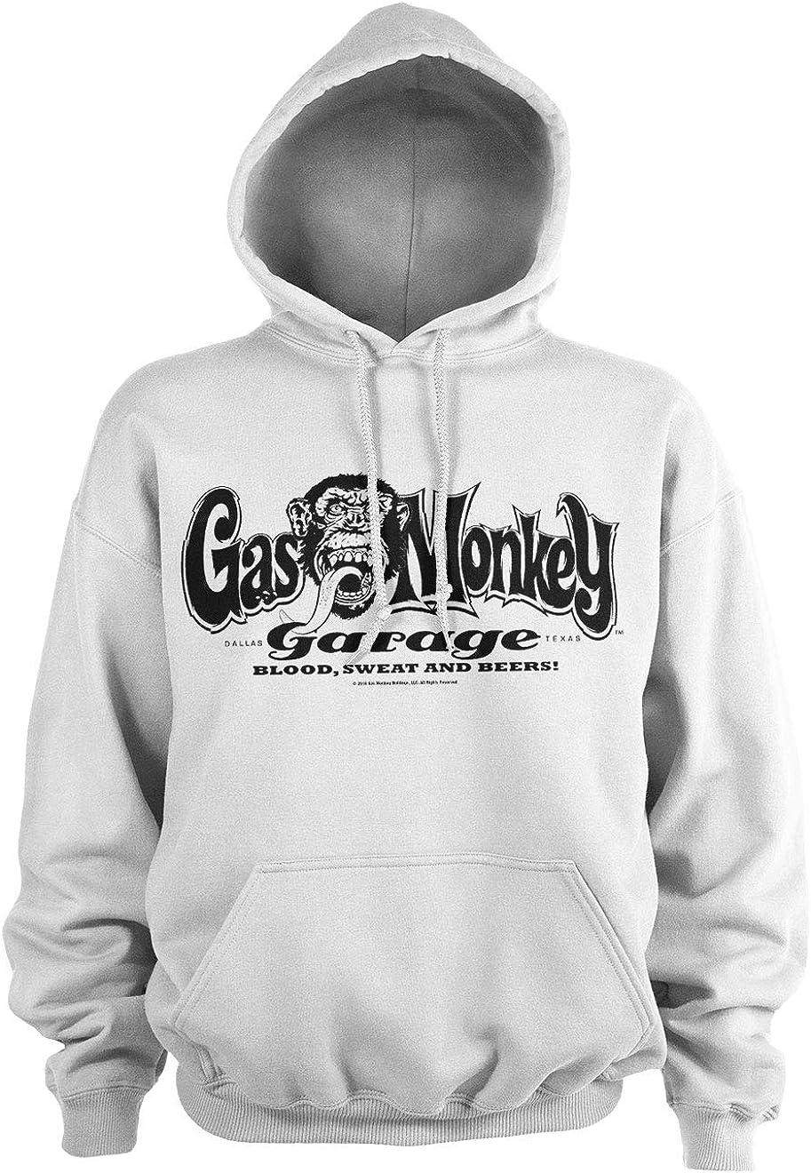 Gas Monkey Garage Officially Licensed Logo Hoodie