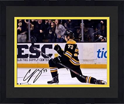 Image Unavailable. Image not available for. Color  Framed Charlie McAvoy  Boston Bruins Autographed ... 23335ecc3