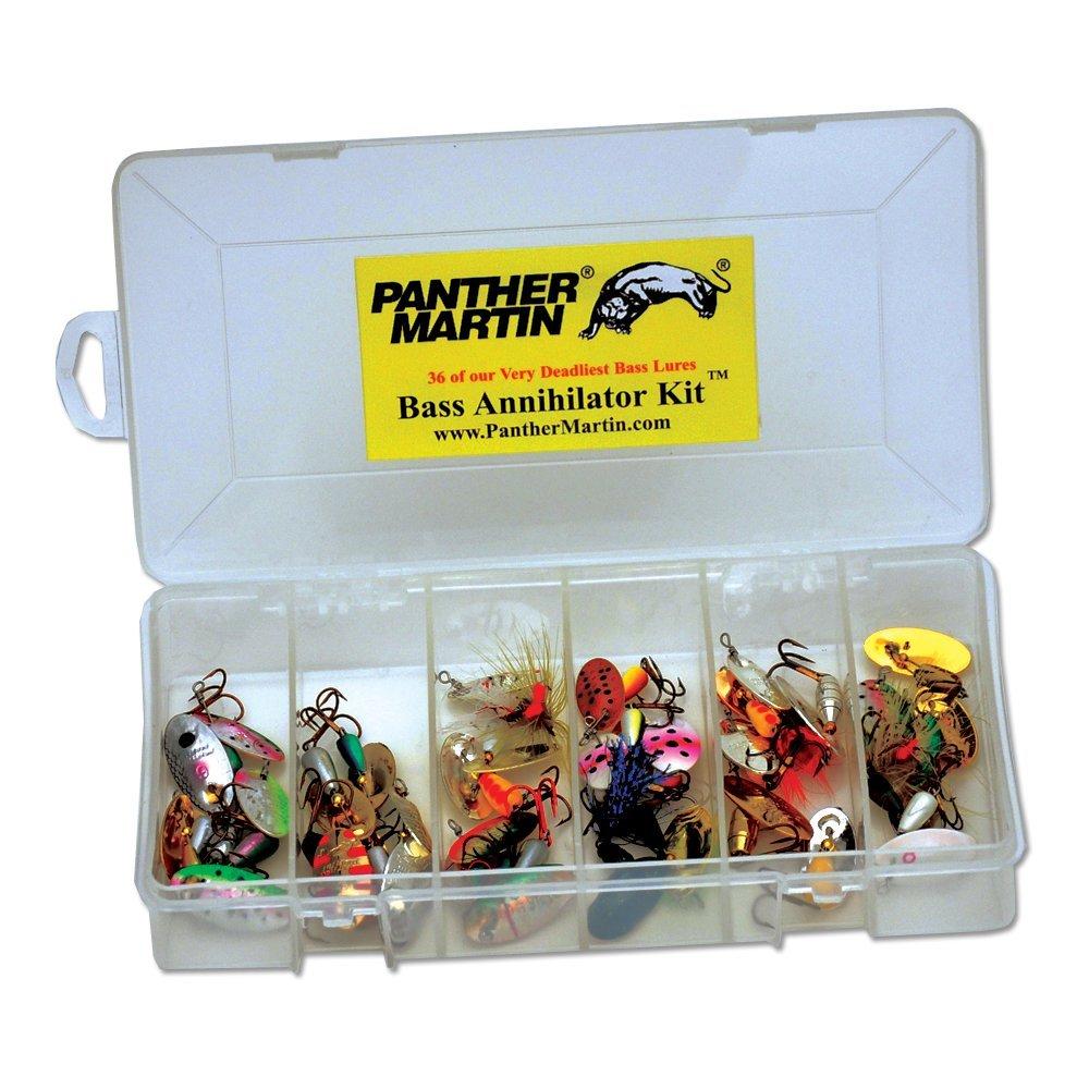 Panther Martin Bass Kit, 36 Piece by Panther Martin