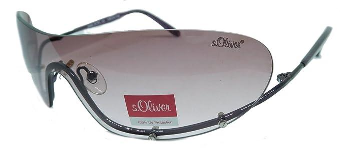 S.Oliver Damen Sonnenbrille für mittlere bis starke Sonneneinstrahlung Purple shiny THY0CZ